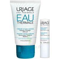 Uriage Eau Thermale Crème D'eau Mains T/30ml+stick Lèvres à MONTEREAU-FAULT-YONNE