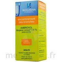 Ambroxol Biogaran Conseil 0,6 % Solution Buvable Sans Sucre édulcorée Au Sorbitol Fl/100ml+godet à MONTEREAU-FAULT-YONNE