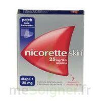 Nicoretteskin 25 mg/16 h Dispositif transdermique B/7 à MONTEREAU-FAULT-YONNE