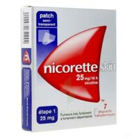 Nicoretteskin 25 mg/16 h Dispositif transdermique B/28