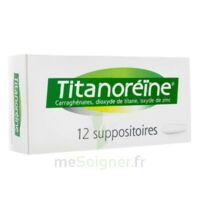 TITANOREINE Suppositoires B/12 à MONTEREAU-FAULT-YONNE