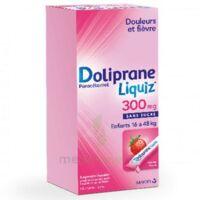 Dolipraneliquiz 300 mg Suspension buvable en sachet sans sucre édulcorée au maltitol liquide et au sorbitol B/12 à MONTEREAU-FAULT-YONNE