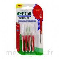 Gum Trav - Ler, 0,8 Mm, Manche Rouge , Blister 4 à MONTEREAU-FAULT-YONNE
