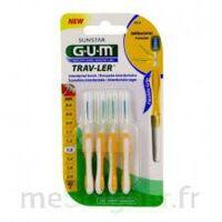 GUM TRAV - LER, 1,3 mm, manche jaune , blister 4 à MONTEREAU-FAULT-YONNE