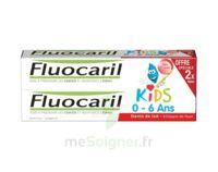 Fluocaril Kids Gel Dentifrice Fraise 0/6ans 2*50ml