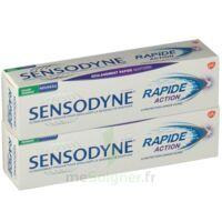Sensodyne Rapide Pâte dentifrice dents sensibles 2*75ml à MONTEREAU-FAULT-YONNE