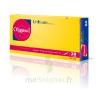 Oligosol Lithium Solution Buvable En Ampoule Ou En Récipient Unidose 28amp/2ml à MONTEREAU-FAULT-YONNE
