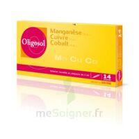 Oligosol Manganèse Cuivre Cobalt Solution Buvable En Ampoule 14amp/2ml à MONTEREAU-FAULT-YONNE