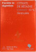 Citrate de Betaïne CRISTERS 10 % Granulés Sachet/250g à MONTEREAU-FAULT-YONNE
