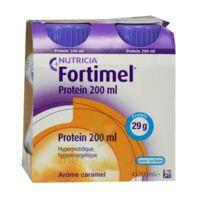 Fortimel Protein Nutriment caramel 4 Bouteilles/200ml à MONTEREAU-FAULT-YONNE