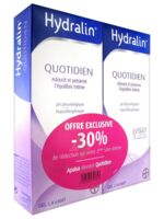 Hydralin Quotidien Gel lavant usage intime 2*200ml à MONTEREAU-FAULT-YONNE