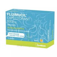Fluimucil Expectorant Acetylcysteine 600 Mg Glé S Buv Adultes 10sach à MONTEREAU-FAULT-YONNE