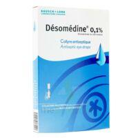Desomedine 0,1 % Collyre Sol 10fl/0,6ml à MONTEREAU-FAULT-YONNE