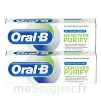 Oral B Gencives Purify Dentifrice 2*T/75ml à MONTEREAU-FAULT-YONNE