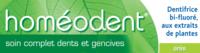 Boiron Homéodent Soin Complet Dents et Gencives Pâte Dentifrice Anis 2T/75ml à MONTEREAU-FAULT-YONNE