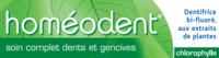 Boiron Homéodent Soin Complet Dents et Gencives Pâte Dentifrice Chlorophylle 2T/75ml à MONTEREAU-FAULT-YONNE