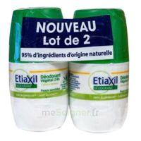 Etiaxil Végétal Déodorant 24h 2roll-on/50ml à MONTEREAU-FAULT-YONNE