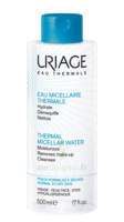 Uriage Eau Micellaire Thermale - peaux normales à sèches - 500ml