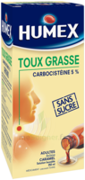 Humex 5 % Solution Buvable Expectorant Sans Sucre Adulte Fl/250ml à MONTEREAU-FAULT-YONNE