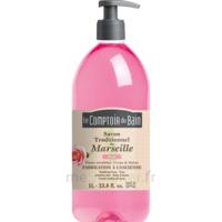 Savon De Marseille Liquide Rose 1l