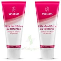 Weleda Duo Pâte Dentifrice Au Ratanhia 150ml à MONTEREAU-FAULT-YONNE