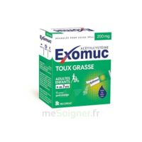 EXOMUC 200 mg, granulés pour usage oral en sachet 15 Sachets/2g à MONTEREAU-FAULT-YONNE
