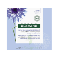 Klorane Bleuet Bio Patchs Défatigants Express 7x2 Patchs à MONTEREAU-FAULT-YONNE