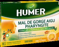 Humer Pharyngite Pastille Mal De Gorge Miel Citron B/20 à MONTEREAU-FAULT-YONNE